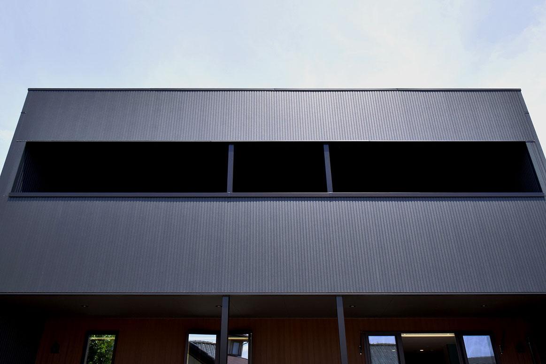 北欧モダンテイストのボックス型住宅
